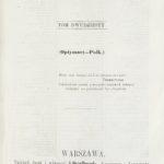 Osieck i Parysów z 1863 r.