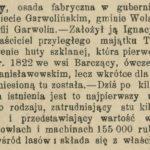 Huta Czechy w Wielkiej encyklopedii powszechnej ilustrowanej