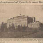 Budynek szkoły powszechnej w Garwolinie w czasie II wojny światowej
