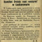 Komitet Opieki nad rannymi w Łaskarzewie