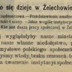 Żelechów w 1913 r.