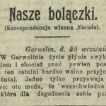 Kronika garwolińska (1912)