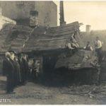 Rozbiórka domów w Garwolinie przed wojną