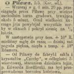 """Bocznica kolejowa do huty """"Czechy"""""""