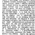 Pożar w Oblinie w 1915 r.