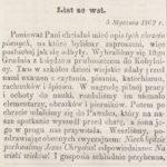 Chrzciny w rodzinie Pawelców z Kobylnicy