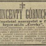 Wincenty Górnicki - pedagog
