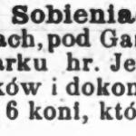 Bolszewicy w Sobieniach-Jeziorach
