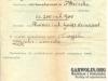 13. Dokument z 10 czerwca 1919 roku  potwierdzający wypłatę odszkodowania za straty poniesione przez I Wojnę Światową. Nadesłał Paweł Lemieszkiewicz.
