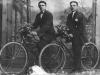 3. Edward Czaplarski i Józef Koronka. Zdjęcie udostępnił M. Tomaszek