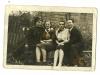 15. Wola Korycka, przełom lat 40tych-50tych, od prawej Jan Michalec, Marianna Klimek (teraz Babik), Wanda Czyżek, Henryk Kostyra. Udostępnił Łukasz Babik