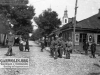 37. Główne skrzyżowanie ulic Kościuszki i Staszica (dawniej Warszawskiej i Łukowskiej) 1916 rok. Udostępnił O. Ginalski