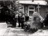 35. Święto PW - warta przy tablicy ku czci marszałka Józefa Piłsudskiego 14 VI 1936. Źródło internet