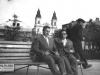 140. Zdjęcie E. Korony z Januszem Pająkiem (po lewo) - urodzonym w Garwolinie w 1944 roku zapaśnikiem, olimpijczykiem z Meksyku 1968. Udostępnił E. Korona