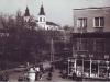 36. Widok na park i dom handlowy w centrum Garwolina. Ze zbiorów p. Sewruk