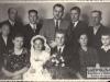 4. Na środku górnego rzędu Dr Wincenty Kamiński - w latach 30-tych XX w. lekarz w szpitalu w Maciejowicach. Zdjęcie z 1954 roku. Udostępniła Edyta