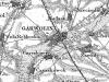Mapa Garwolina i Okolic z 1839 roku