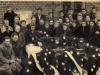 Pogrzeb Wacława Wawra, zastrzelonego przez Niemców, Pilawa, lata 40. Ze zbiorów Krzysztofa Gawrysia