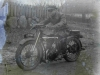 Pierwszy motocykl. Ze zbiorów Stefana Siudalskiego