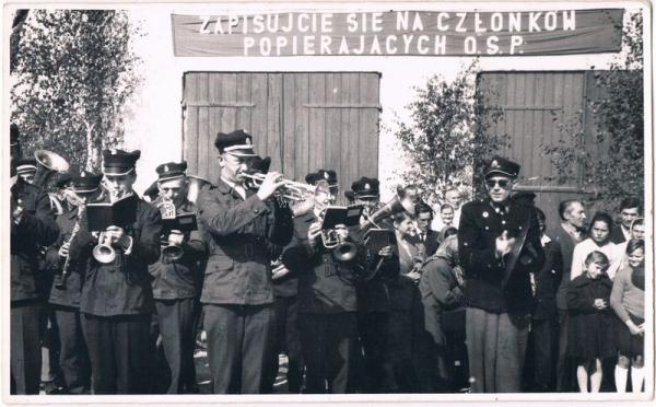 Orkiestra Dęta OSP Garwolin. Ze zbiorów rodziny Paziewskich