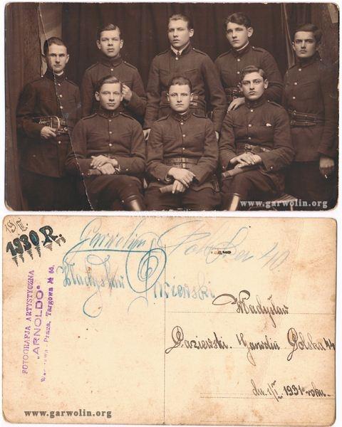 Członkowie orkiestry - Warszawa początek lat 30-tych XX wieku. Ze zbiorów rodziny Paziewskich