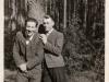 Rok 1947. Unin. Józef Domarecki i Tadeusz Adamczyk. Fotografie ze zbiorów E. Domareckiej