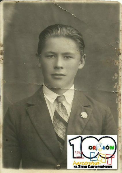 Roman Zaleski lata 30-te. Źródło ZHP Garwolin