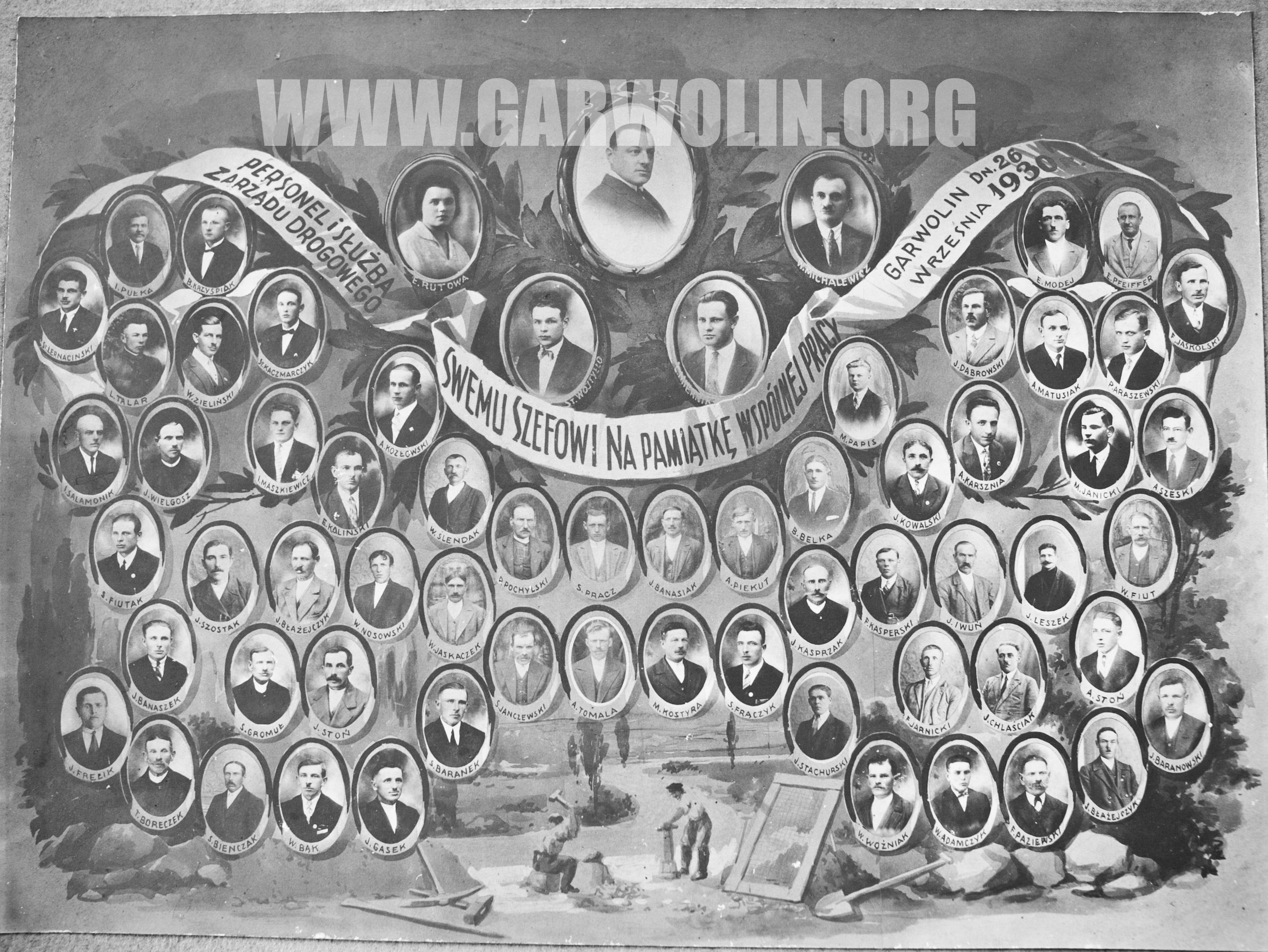 tablo od a. rekawek - drogowcy 1930-1a