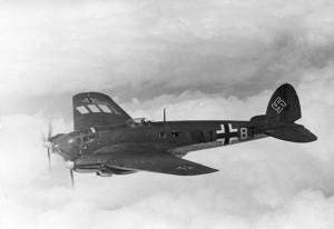samolot luftwaffe He 111H