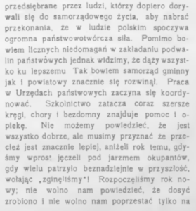 podsumowanie roku 1919 - 2