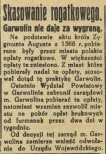 przywilej Zygmunta Augusta