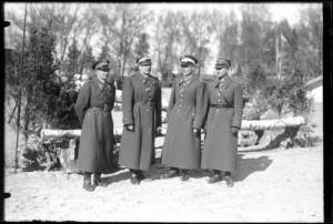 oficerowie ze sztabu 2 Dywizji Kawalerii
