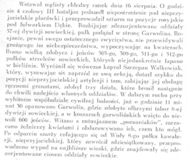 zarys historii pułku