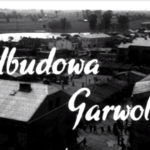 Odbudowa Garwolina w 1950 r.