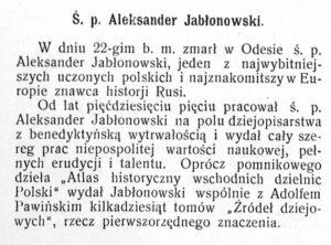 Aleksander Jabłonowski