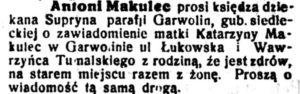 Antoni Makulec