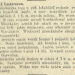 Łaskarzew latem 1915 r.