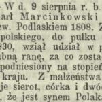 Wojciech Marcinkowski (1808-1867) z Łaskarzewa