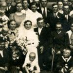 Fotografie weselne nieznanej pary z Garwolina lub okolic