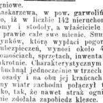 Pożar Garwolina w 1854 r.