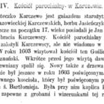 Dekanat garwoliński na początku XVII w. Cz. 4. Karczew
