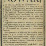 Dr Józef Nowak - lekarz z Garwolina