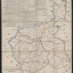 Garwolin na mapach pocztowych Królestwa Polskiego w 1827 i 1841 r.