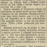 Parysów pod koniec XIX w.