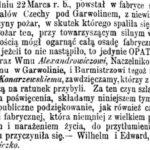 Pożar w Hucie Czechy (1865)