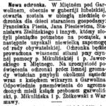 Ochronka w Miętnem (1915)