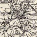 Trojanów na początku XIX w.
