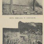 Huta szkła Czechy na początku XX w.