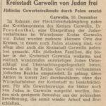 Czwarty etap Holocaustu w Garwolinie i Maciejowicach