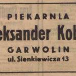 Reklamy z okresu okupacji